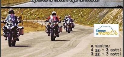 Mototuristi per L'Abruzzo – Tour di solidarietà aperto a tutti i tipi di moto