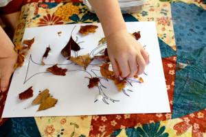 foglie-vere-su-albero-disegnato